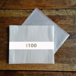 Pochettes cristal 215 x 155 rabat 10 mm
