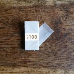 Sachets cristal 45 x 78 rabat 14 mm