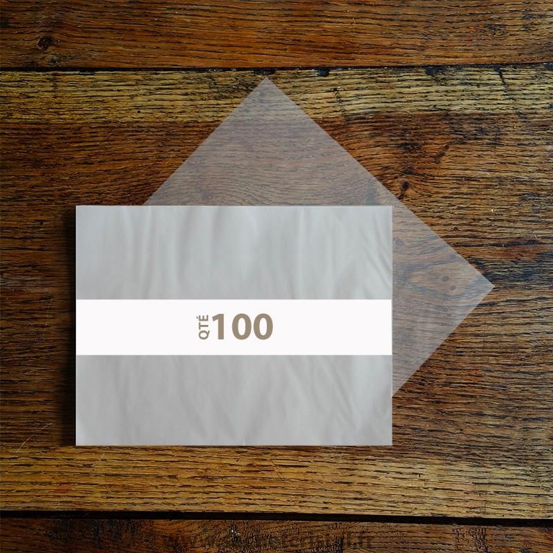 Feuilles papier cristal A4 210 x 297 mm