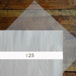 Feuilles papier cristal A2 420 x 594 mm