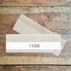 Pochettes archivage en papier cristal pour negatifs 135