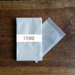 Sachets Cristal 85 x 132 rabat 16 mm