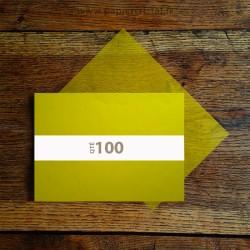 Feuilles papier cristal couleur jaune A4 210 x 297 mm