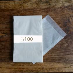 Sachets Cristal 105 x 150 rabat 20 mm