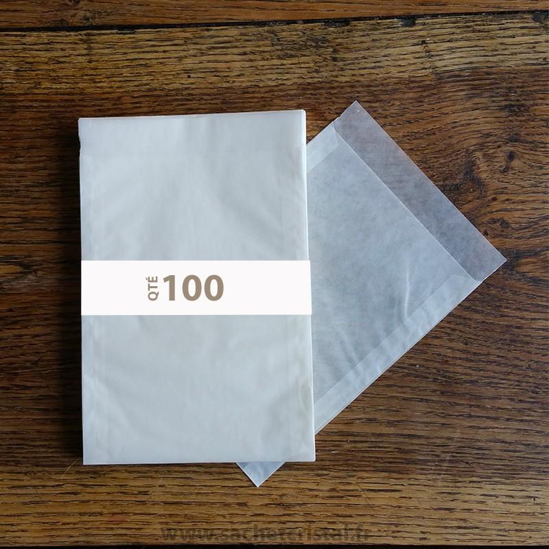 Sachets Cristal 115 x 160 rabat 20 mm