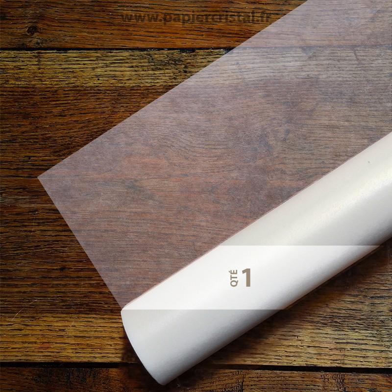 Rouleau de papier cristal semi transparent 1118 mm x 50 m