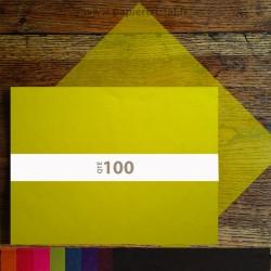 Feuilles papier cristal couleur A3 297 x 420 mm