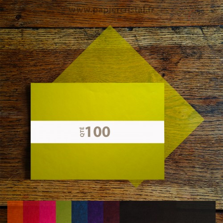 Feuilles papier cristal couleur A4 210 x 297 mm