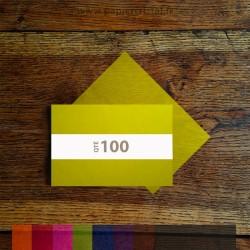 Feuilles semi-transparentes pour savon artisanal en papier cristal couleur 120 x 180 mm