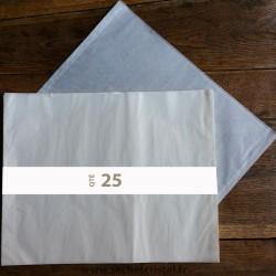 Pochettes cristal 510 x 402 rabat 6 mm