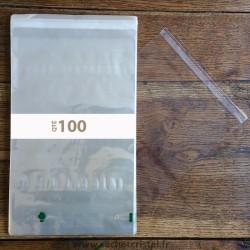 Sachets Polypropylène 220 x 350 rabat adhésif