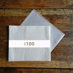 Pochettes cristal 250 x 188 rabat 4 mm
