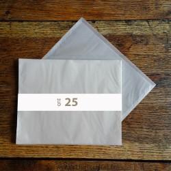 Pochettes cristal 310 x 245 rabat 10 mm