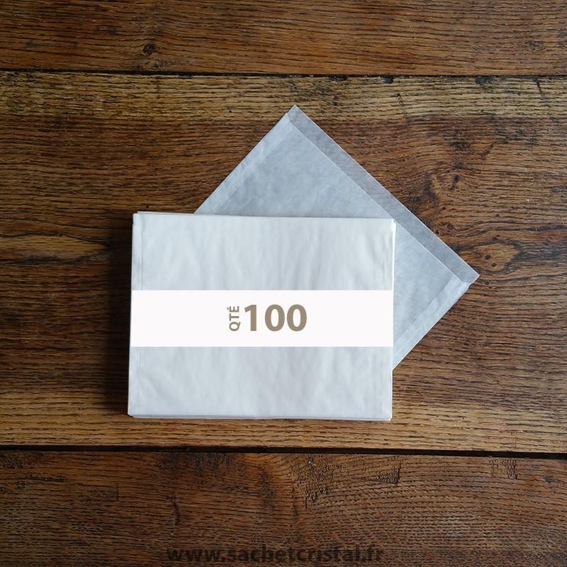 Pochettes cristal 190 x 135 rabat 10 mm