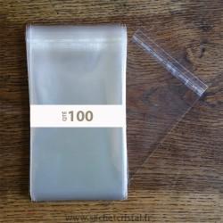 Sachets Polypropylène 110 x 155 rabat adhésif