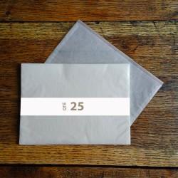 Pochettes cristal 310 x 220 rabat 10 mm