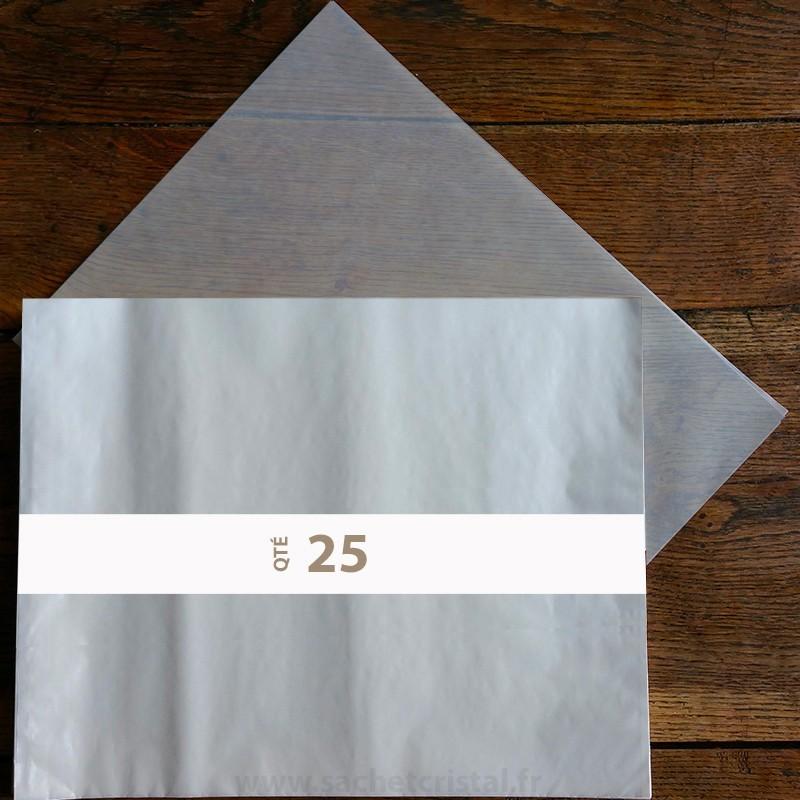 Feuilles papier cristal 65 x 100 cm