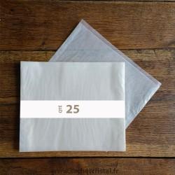 Pochettes cristal 270 x 220 rabat 10 mm